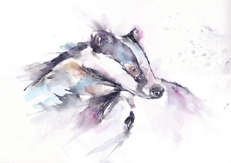Badger prints