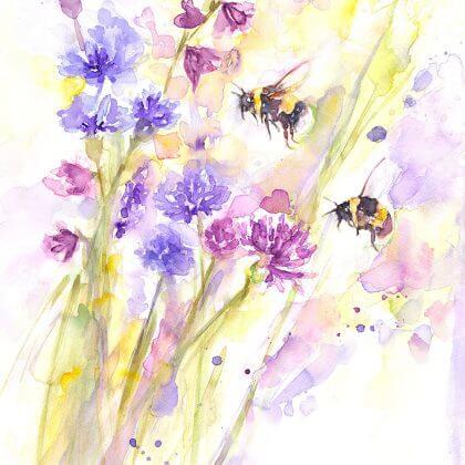 Bees & Wildflowers (Main Image)