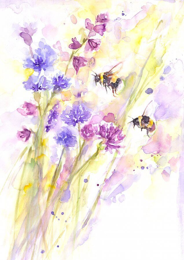 Bees and Wildflowers