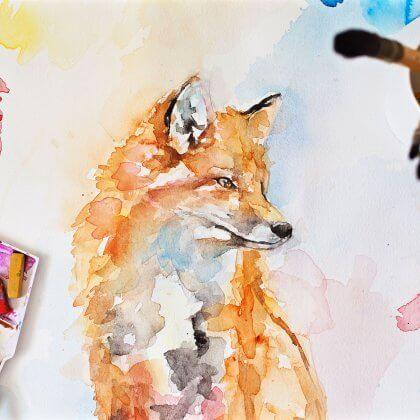 Handsome Fox (original art) (1)