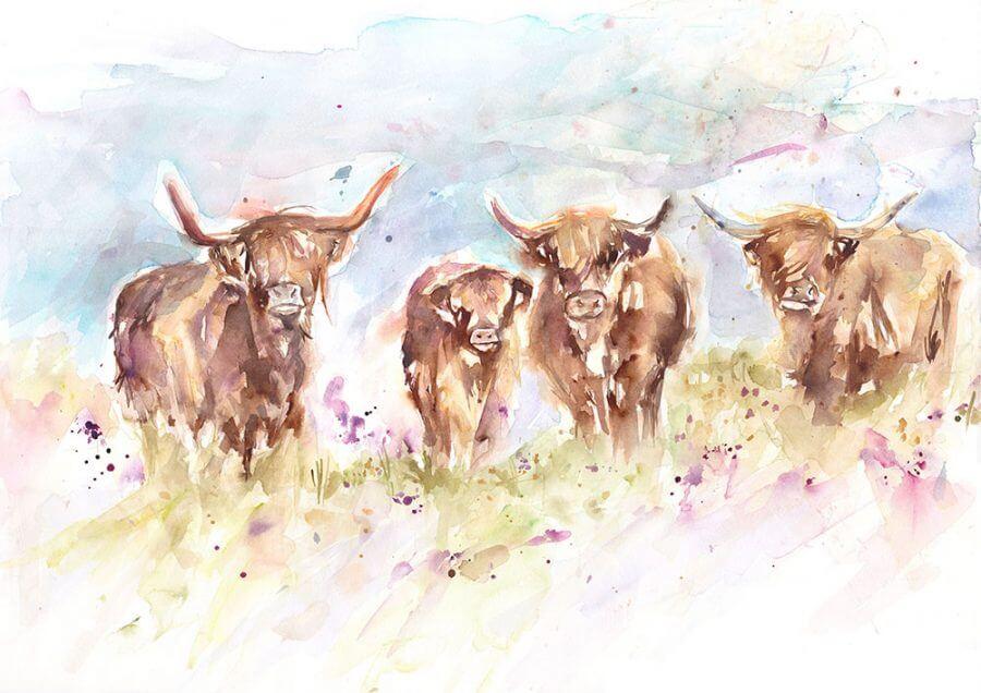 Highland Herd (Main image)