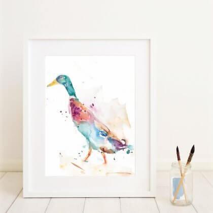 Runner Duck (In situ)