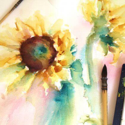 Sunflowers (close up)