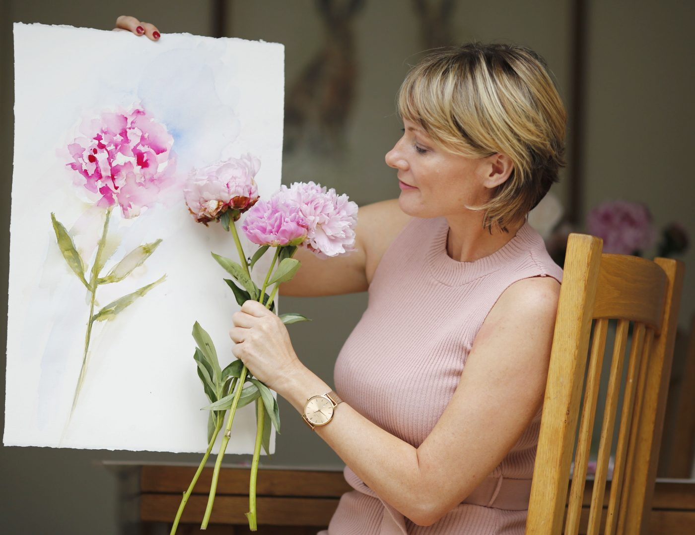 A passion for peonies